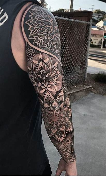 Geometric Tattoos Tattoo Sleeve Inspiration Mandala Feminina