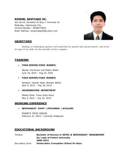 Copy Of Resume by Resume Original Copy