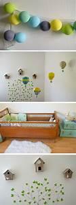 deco chambre bebe la chambre nature et poetique de noah With tapis chambre bébé avec matelas rendez vous