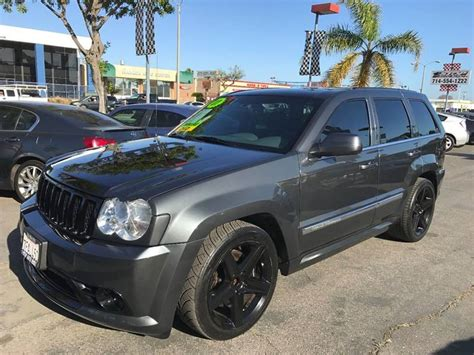 jeep srt 2007 2007 jeep grand cherokee srt 8 for sale 299 used cars from