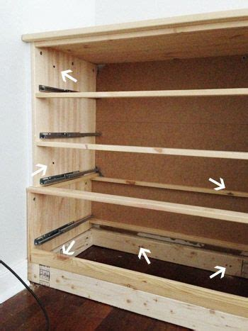 how to secure dresser to wall turning bought dressers into bedroom built ins