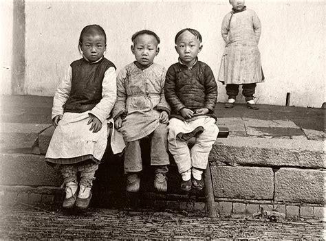 vintage everyday life  china  monovisions