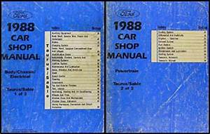 1988 Ford Taurus Wiring Diagram : 1988 ford taurus mercury sable wiring diagram original ~ A.2002-acura-tl-radio.info Haus und Dekorationen