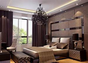 Elegant, Master, Bedroom, Interior, Design
