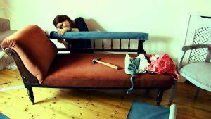 How To Upholster A Chaise Longue  Georgina Burnett