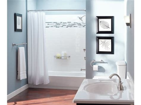 Bathroom Towel Bar Placement Suggestions by Moen Home Care 24 Quot Grab Bar With Towel Bar Lr2350d Elderluxe