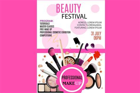 beauty festival flyer flyer templates creative market