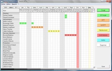 calendrier photo de bureau les meilleures logiciels de rétro planning