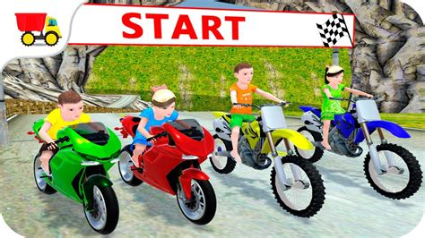 Kids Motorbike Rider Race 2