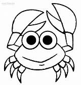 Crab Coloring Pages Drawing Outline Cute Printable Cool2bkids Crabs Cartoon Sheet Hermit Animal Krabs Mr Clipartmag Getdrawings Drawings Results Getcoloringpages sketch template