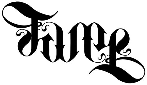 latest ambigram tattoo designs  ideas