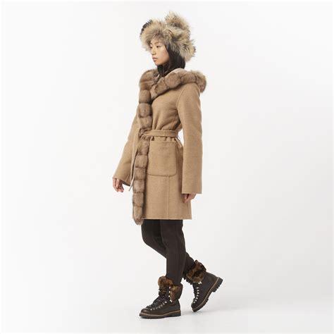 Reversible Coat Cashmere Zibeline • OGIER Official Website