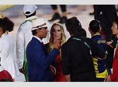 Rafael Nadal carries Spain's flag at Olympic Opening
