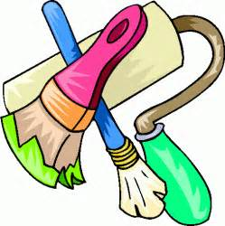 Painting Home Improvement Clip Art