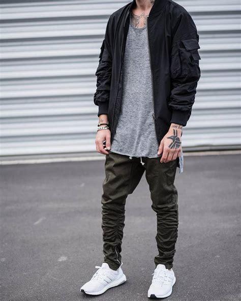 Side Zipper Men Slim Fear Of God Yeezy Boost Casual Jogger Pants