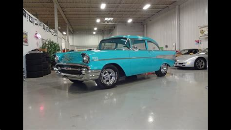 chevy bel air sport coupe  tropical turquoise