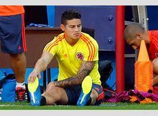James Rodriguez injury update Star WON'T start World Cup