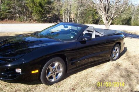 car owners manuals for sale 1998 pontiac firebird interior lighting buy used 1998 pontiac firebird trans am convertible 2 door 5 7l one owner 11 000 miles in six