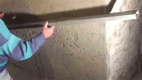 rasatura muri interni come intonacare una parete