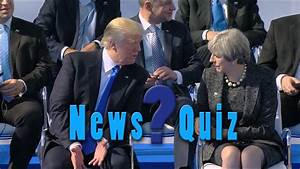 Washington Week-ly News Quiz: May 25, 2017 | Washington Week