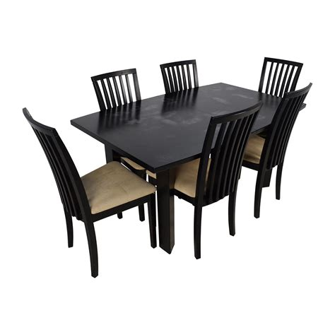 dining table and 6 chairs 90 off skovby skovby sm 24 dining table with butterfly