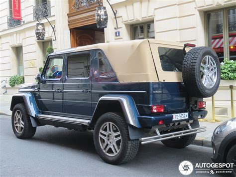 With origins in the first ever car produced by karl benz, mercedes' history is nothing short of amazing. Mercedes-Maybach G 650 Landaulet W463 - 2 april 2019 ...