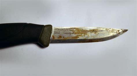 comment j ai r 233 ussi 224 enlever la rouille d une lame de couteau
