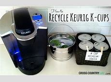 HOW TO RECYCLE KEURIG KCUPS