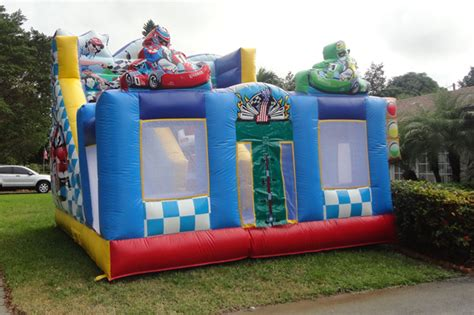 bounce house rentals in west palm water slide