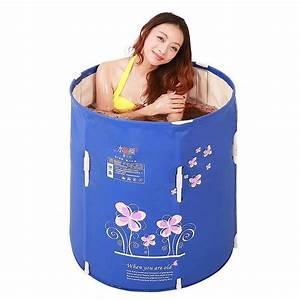 Faltbare Badewanne Für Erwachsene : fhk klappbare badewanne kann gefaltet werden faltbare badewanne f sser badewanne erwachsene ~ Orissabook.com Haus und Dekorationen