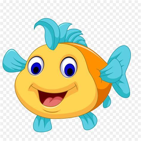 cartoon fish royalty  illustration cute cartoon fish