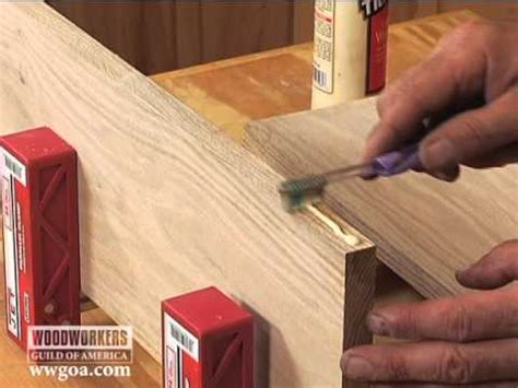 woodworking tips techniques joinery toothbrush glue