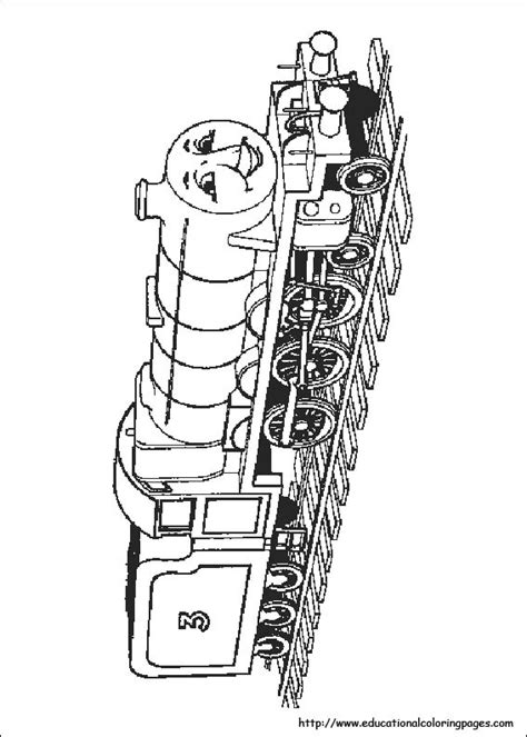 thomas  train coloring pages   kids