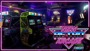 new retro arcade neon free igggames