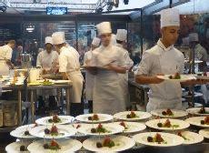 tecomah cuisine equip 39 hôtel le resto des chefs valorise le duo salle cuisine