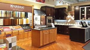 deluxe kitchen cabinets in bay aera kraftmaid schrock With kitchen cabinets lowes with like us on facebook sticker