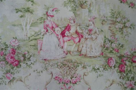 shabby chic fabric yard 1 2 yard of quilt gate mary rose victorian shabby chic fabric in gree