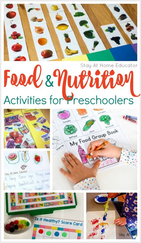 how to teach healthy with a preschool nutrition theme 609 | 10 Food and nutrition activities for preschoolers