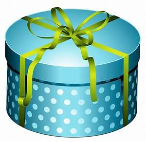 Birthday Present Round Clipart