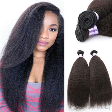 malaysian straight hair coarse yaki hair wefts