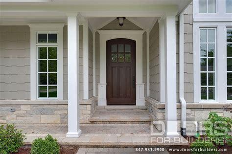 entry door  stock single solid wood  walnut