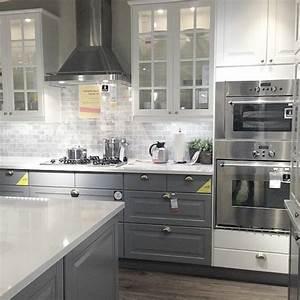 Ikea Küchenfronten Landhaus : k chenschrank ikea grau ~ Lizthompson.info Haus und Dekorationen