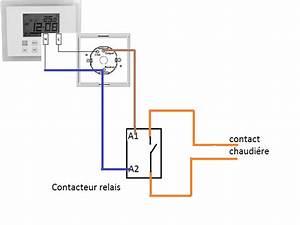 Thermostat Connecté Chaudière Gaz : schema branchement thermostat sur chaudiere gaz ~ Melissatoandfro.com Idées de Décoration