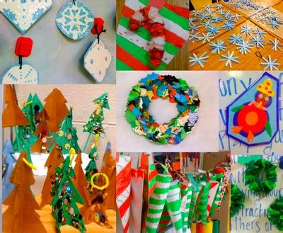 christmas art projects for middle schoolers primary and craft ideas not just for either school ideas craft