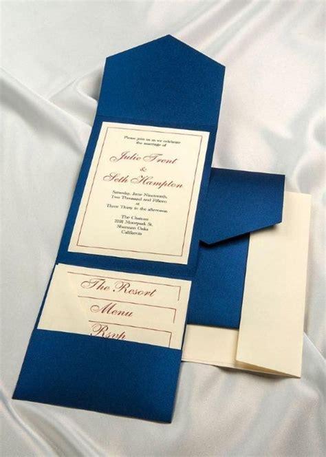 print your own royal blue wedding invitations royal blue