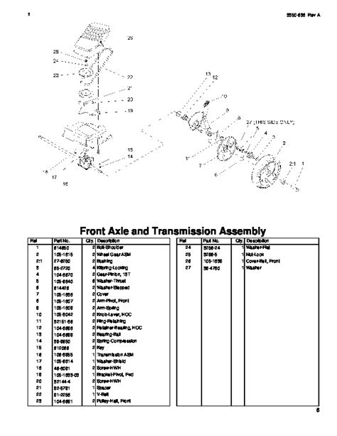 Toro 20007 22-Inch Recycler Lawn Mower Parts Catalog, 2004