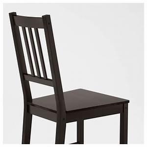 STEFAN Chaise Brun noir IKEA