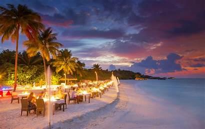 Maldives Island Beach Conrad Rangali Ocean Restaurant