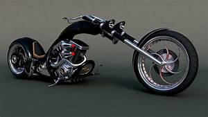 Harley Davidson Chopper Luxury Harley Davidson 3d Models ...