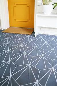 Faux Carreaux De Ciment : sol vinyle imitation carreau de ciment r tro et moderne ~ Dailycaller-alerts.com Idées de Décoration